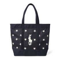 Star-Spangled Pony Cotton Tote