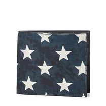 Star-Spangled Leather Wallet