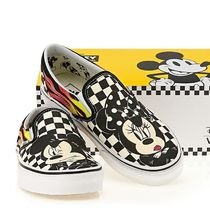 VANS x DISNEY  CLASSIC SLIP ON CHECKER FLAME (22‐28㎝)
