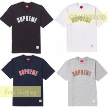 M-L ☆ 18FW / AW SUPREME Printed Arc S/S Top Tee