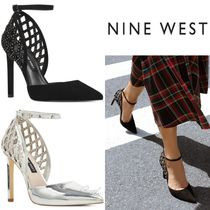 Nine West*美脚*スタッズ*パンプス/Thefinest Ankle Strap Pumps