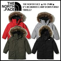 THE NORTH FACE(ザノースフェイス) キッズアウター ★関税込★THE NORTH FACE★KS MCMURDO CAMP DOWN PARKA 3色