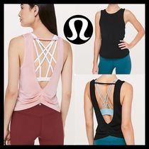 オープンバックdesignがNice♥Deep Stretch Tank♥