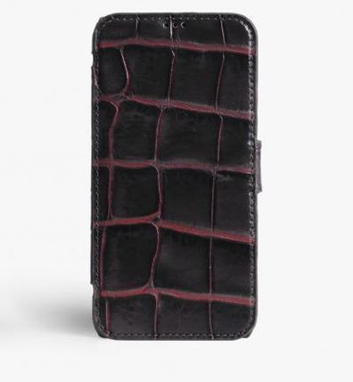 THE CASE FACTORY スマホケース・テックアクセサリー 関税送料込☆THE CASEFACTORY☆IPHONE X/XS CARDCASE CROCODILE (3)