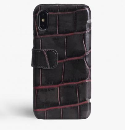 THE CASE FACTORY スマホケース・テックアクセサリー 関税送料込☆THE CASEFACTORY☆IPHONE X/XS CARDCASE CROCODILE (2)