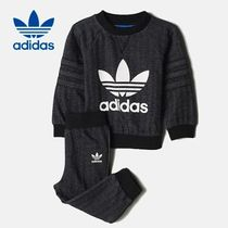 《adidas☆キッズ》 INFANT FRENCH TERRY CREW 上下セット75-80