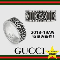 ★追跡有【GUCCI】Ring with Double G in silver★