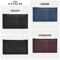 【COACH】☆新作☆ Zip Card Case With Signature Hardware