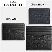 【COACH】☆18-19AW新作☆ Card Case In Signature Leather
