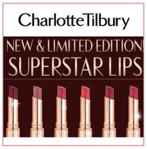 限定版*Charlotte Tilbury* Superstar Lips