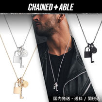 Chained & Able★ロック&キーBUNCH ネックレス★クーポン付き