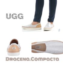 ▼△送料込*UGG*Adley Perforated Stardust*スリッポン▽▲