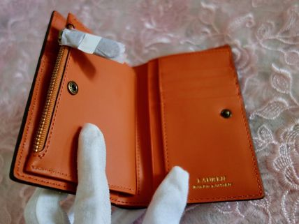 Ralph Lauren 折りたたみ財布 国内発 Lauren Ralph Lauren Dryden Smooth Zip Wallet ミニ財布(9)