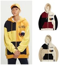 日本未入荷ROMANTIC CROWNのColor Block Hood Zip Up 全3色