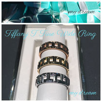 【Tiffany & Co】Tiffany T True Wide Ring in 18k Gold