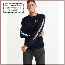 Abercrombie&Fitch(アバクロ)長袖サイドロゴTシャツ