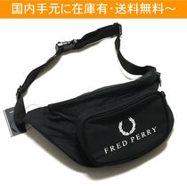 FRED PERRY(フレッドペリー) ショルダーバッグ FRED PERRY レトロ ウエストバッグ