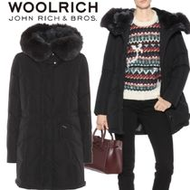 【18AW】★WOOLRICH★City fur-trimmed down coat
