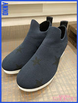 DKNY★Angie Slip-On Sneakers★ファブリックスニーカー★Navy