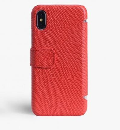 THE CASE FACTORY スマホケース・テックアクセサリー 関税送料込☆THE CASEFACTORY☆IPHONE X/XS CARDCASE LIZARD (2)