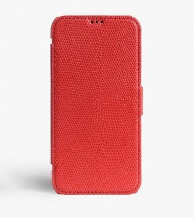 THE CASE FACTORY スマホケース・テックアクセサリー 関税送料込☆THE CASEFACTORY☆IPHONE X/XS CARDCASE LIZARD (3)