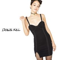送料/関税込 †DOLLS KILL† TRUE PLAYER FORREAL MINI DRESS