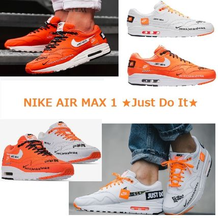NIKE★メンズ AIR MAX 1 / SE/JUST DO IT /30th (オレンジ・白)