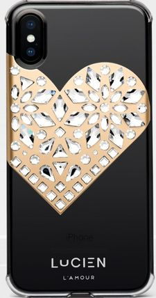 """LUCIEN スマホケース・テックアクセサリー レアLUX★iPhoneX★LUCIEN """"L'AMOUR"""" SERIES4色展開(6)"""