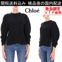 少数入荷 新作SALE★Chloe★Black cashmere sweater