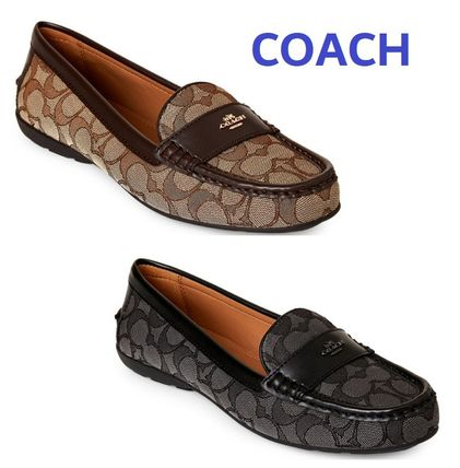 Sale!  COACH Odette Signature Driving Loafers