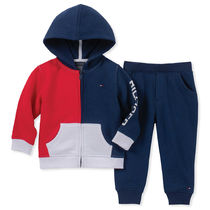 Tommy Hilfiger(トミーヒルフィガー) キッズ用トップス Tommy Hilfigerトミーヒルフィガー♪2ピースColorblock セット