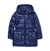 Quilted Hooded Down Coat