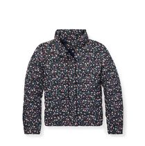 Floral Quilted Down Jacket