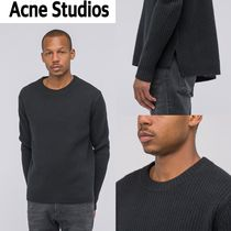 追跡有り配送!Acne Studios  Nicholas Sweater  Black
