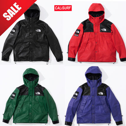 Supreme ジャケットその他 【AW18】Supreme x The North Face / Leather Mountain Parka