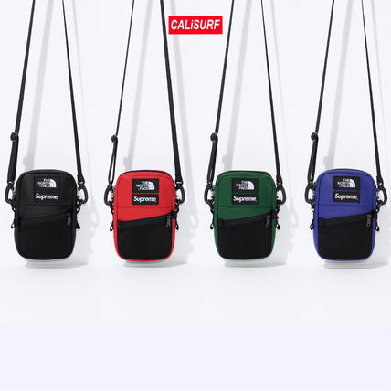 Supreme ショルダーバッグ 【AW18】Supreme x The North Face/Leather Shoulder Bag コラボ