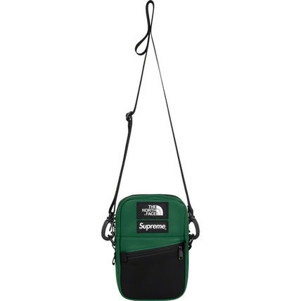 Supreme ショルダーバッグ 【AW18】Supreme x The North Face/Leather Shoulder Bag コラボ(4)