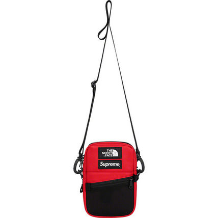 Supreme ショルダーバッグ 【AW18】Supreme x The North Face/Leather Shoulder Bag コラボ(6)