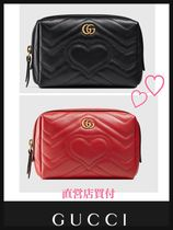 《GUCCI》◆人気◆ GG Marmont cosmetic case 直営店買付♪