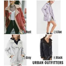 【URBAN OUTFITTERS】●日本未入荷● Oversized Leather Jacket