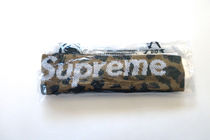 新作!Supreme New Era Big Logo Headbandヘッドバンド Leopard