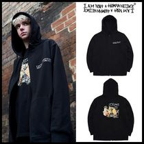 I AM NOT A HUMAN BEING(ヒューマンビーイング) パーカー・フーディ ☆I AM NOT A HUMAN BEING☆ BACCHUS DOODLE ZIP-UP HOODIE