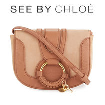【See by Chloe 】Hana ツートーン Leather クロスボディバッグ