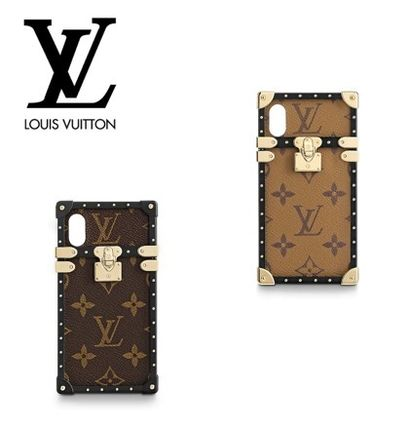 [LOUIS VUITTON] EMS発送★ EYE TRUNK iPhoneX & XSスマホケース