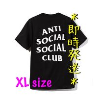 *即時発送* Anti Social Social Club Logo Tee Black (XL)