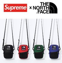 Supreme The North Face Leather Shoulder Bag 18 AW WEEK 9