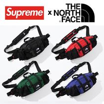 Supreme The North Face Leather Mountain Waist Bag 18FW WEEK9