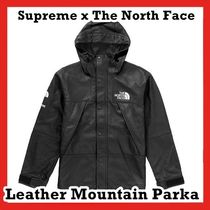 Supreme The North Face Leather Mountain Parka AW 18 WEEK 9