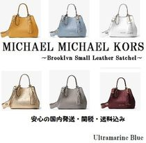 Michael Kors【国内発送】Brooklyn Small Leather Satchel☆SALE