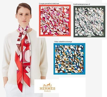 【HERMES】ギフトBOX付★140x140cm★On A Summer Day